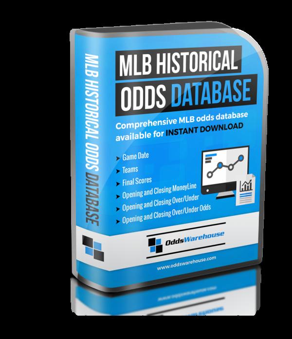 MLB Historical Odds Database