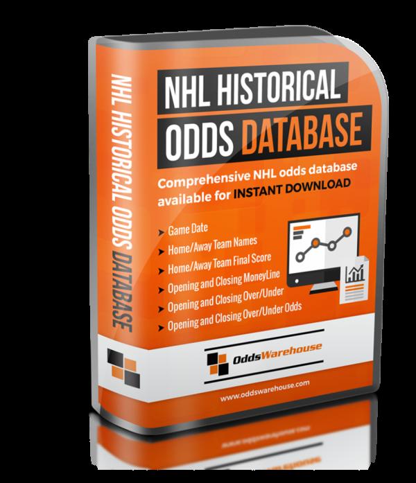 NHL Historical Odds Database