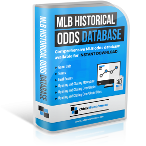 OddsWarehouse MLB Baseball Sports Odds Database