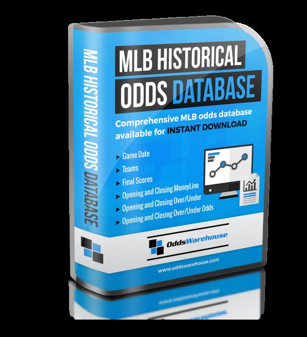 OddsWarehouse MLB Baseball Sports Odds Database