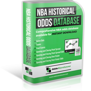 OddsWarehouse NBA Basketball Sports Odds Database