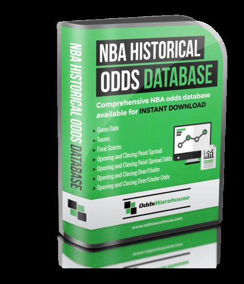 OddsWarehouse NBA Basketball Sports Odds Database