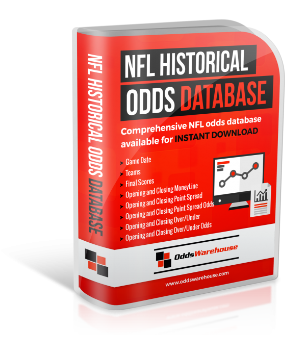 OddsWarehouse NFL Football Sports Odds Database