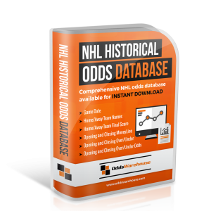 OddsWarehouse NHL Hockey Sports Odds Database