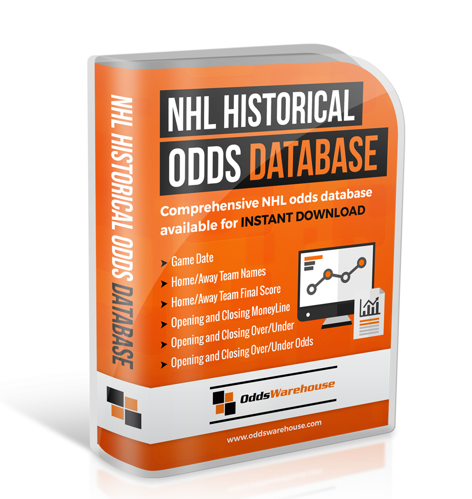historical hockey betting lines